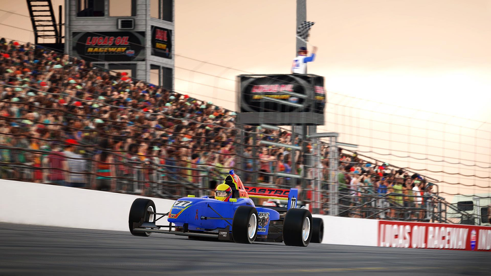 featured image thumbnail for post Castro, Kaeser shine as new iRacing eSeries winners at LOR